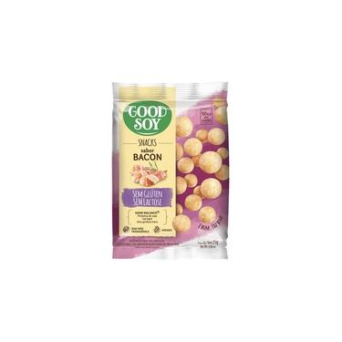 Snack Sem Glúten Sabor Bacon 25g - Good Soy