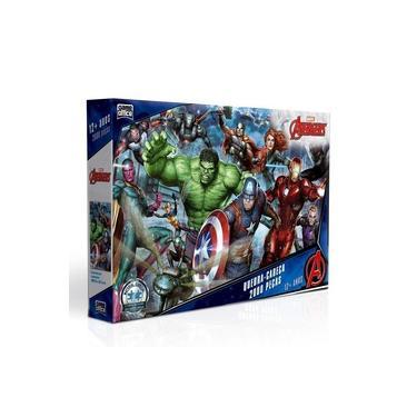 Imagem de Quebra Cabeça 2000 Peças Os Vingadores Marvel Toyster