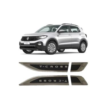 Imagem de Aplique Tag Lateral Emblema Volkswagen T-Cross Tcross 2019 20 21
