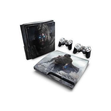 Skin Adesivo para PS3 Slim - Middle Earth: Shadow Of Murdor