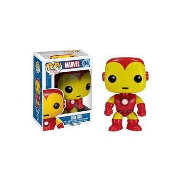 Imagem de Homem De Ferro / Iron Man Clássico - Funko Pop Marvel Universe