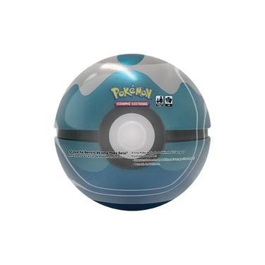 Imagem de Pokémon Lata Poké Bola Mergulho Azul - Copag