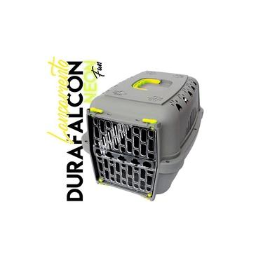 Caixa Transporte para cães e gatos FUN Durapets Amarelo Nº2
