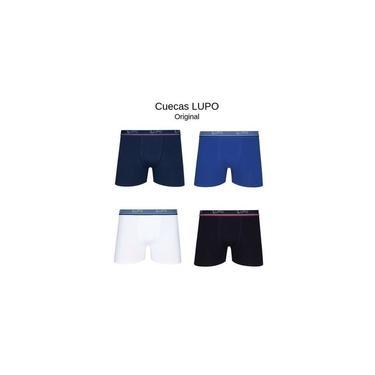 Kit 10 Cuecas Boxer Lupo Comfort Algodão 523 - LUPO