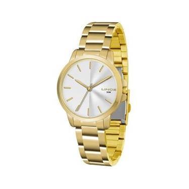 6fc3dddb51e Relógio Feminino Lince Casual Lrg4482l S1kx - Dourado
