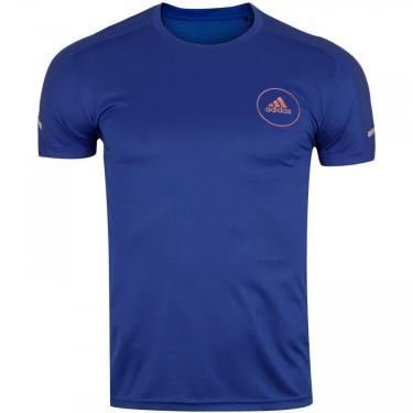 Camiseta adidas Own The Run Lactic - Masculina adidas Masculino