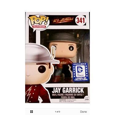 Imagem de Box Legion of Collectors DC Comics Green Arrow Flash Jay Garrick 341 Pop Funko + Supergirl Rock Candy + Camiseta Arqueiro Verde M + HQ Exclusivo SUIKA