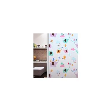 Pelicula 2D Eletrostatica PVC De Vinil Vidro Janela Crianças