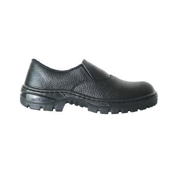 43ec90b0ab9cd Calçado de Segurança Tipo Sapato Cartom M016 PU Elástico Nº 44 Sem Biqueira