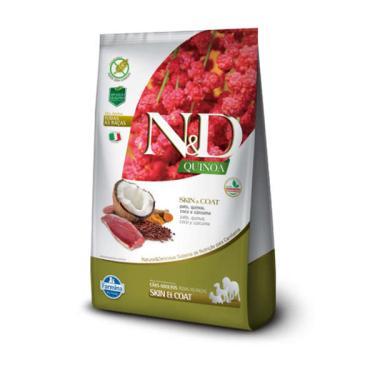 Ração Farmina N&D Quinoa Skin & Coat Pato para Cães Adultos de Todas as Raças - 10,1 Kg