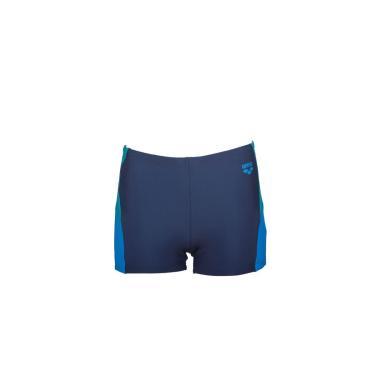 Sunga Box Infantil Ren Short Jr Azul Marinho/ Azul Tam 8-9