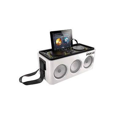 Micro System M1x Dj Philips 60w de Potência e Conexão com Iphone, Ipad, Ipod e Bluetooth - Branco