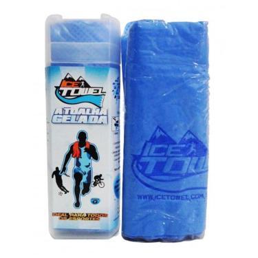 Toalha Gelada Ice Towel Ahead Sports Itgz Azul G