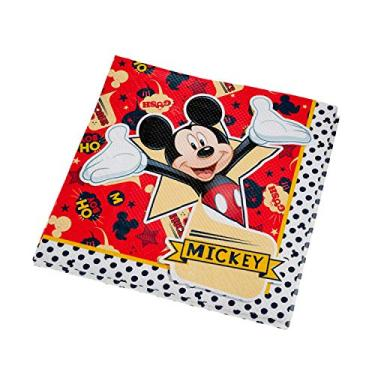 Guard. F. Dupla 25x25cm R276 Mickey Classico - Pacote Com 16 Un Regina Colorido