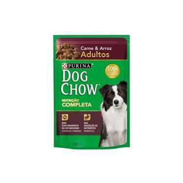 Ração Nestlé Purina Dog Chow Adultos Sachê Carne e Arroz - 100 gr