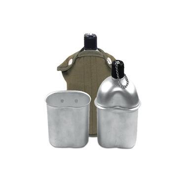 Cantil Alumínio Verde Echolife Com Capa e Caneca