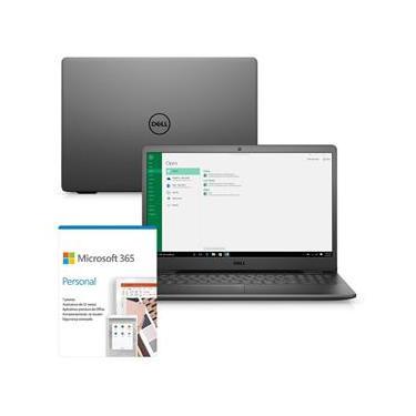 """Imagem de Notebook Dell Inspiron 3501-M46PF 15.6"""" HD 10ª Geração Intel Core i5 8GB 256GB SSD Windows Microsoft 365 Preto"""