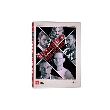 DVD Dinheiro Em Jogo