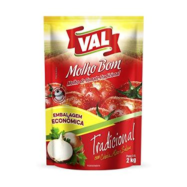 Molho de Tomate Tradicional Sachê 2kg