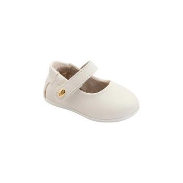 Sapatilha Infantil Klin Princesa Mini 119 Off White