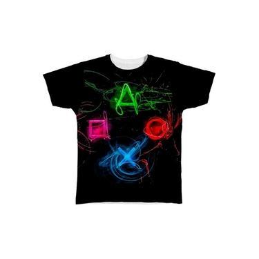 Camiseta Camisa Playstation X Box Controle Jogos Jogo Game 3