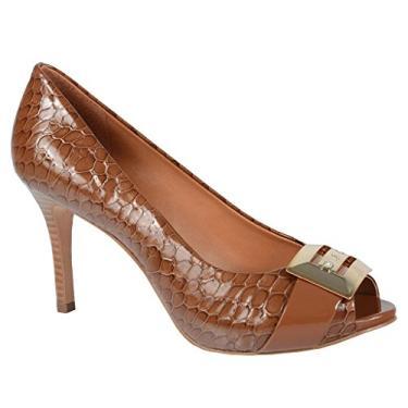 Sapato Peep Toe Feminino Jorge Bischoff Couro J31039044