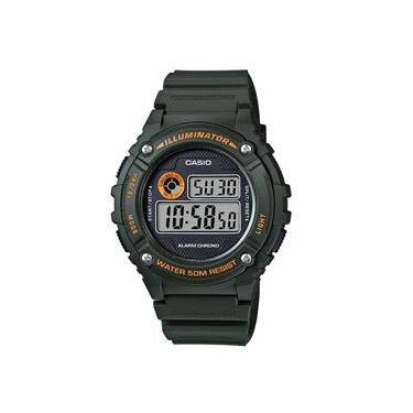 8a62cb1d4cc Relógio Masculino Casio Digital Esportivo W-216H-3BVDF