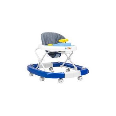 Andador Balanço Carro Sonoro Azul Bebê/Azul Bic