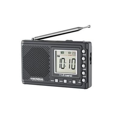 Rádio Portátil Multi Band II, RP04, 10 Faixas, Bivolt - Mondial