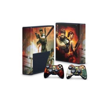 Skin Adesivo para Xbox 360 Super Slim - Resident Evil 5