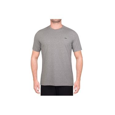 Camiseta Lacoste Tennis TH7618 Mescla Cinza