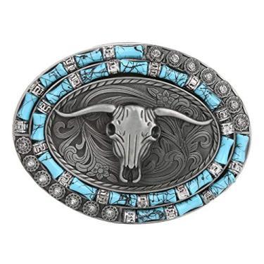 Fivela de cinto de metal ocidental da menolana, fivela de cinto indiano de cowboy americano, 3, as described
