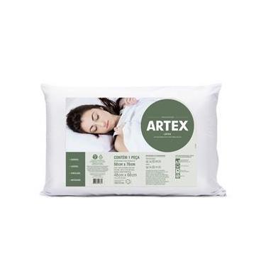 Imagem de Travesseiro Duoflex Artex Látex Branco 70X50Cm