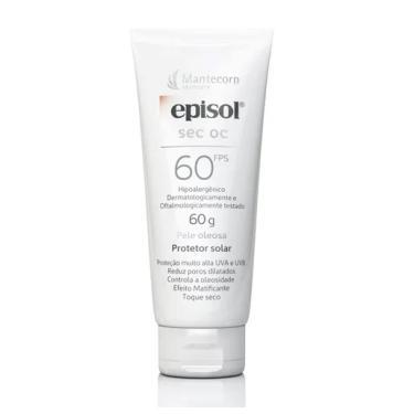 Protetor Solar Mantecorp Episol Sec OC FPS 60 60g