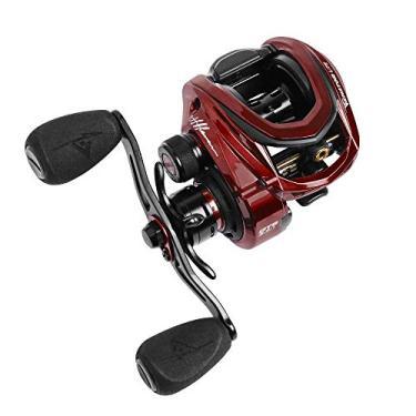 Carretilha Pesca Marine Sports Venator Lite 11 Rol 8.3:1 Vermelha Manivela:Esquerda