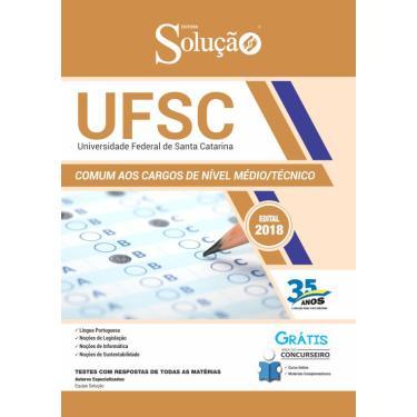 Imagem de Apostila UFSC 2019 - Cargos de Nível Médio/Técnico