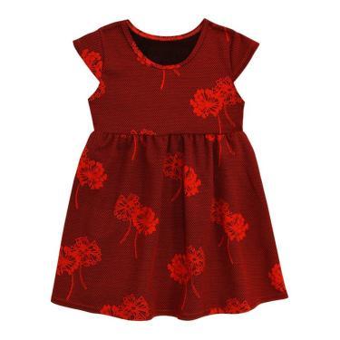 dc4256d5d5 Vestido Infantil Vermelho Amandier By Milon MILON