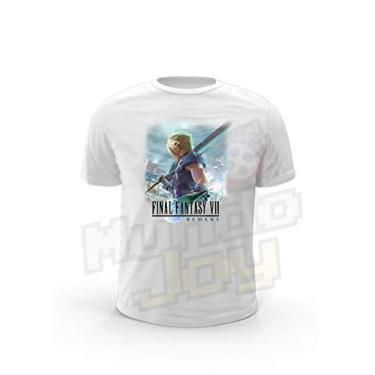 Camiseta Joy Geek Final Fantasy VII Remake Cor:Branco;Tamanho:GG