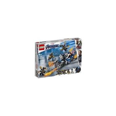 Blocos de Montar - Lego Marvel Super Heroes - Capitao America: Ataque Outriders