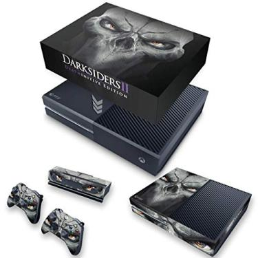 Capa Anti Poeira e Skin para Xbox One Fat - Darksiders 2 Deathinitive Edition