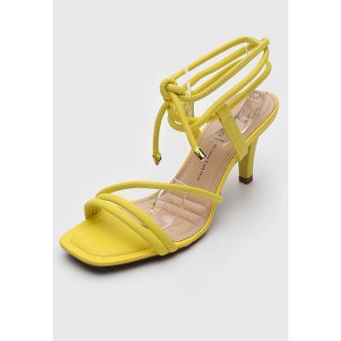 Sandália Dakota Amarração Amarelo Dakota Z6731 feminino