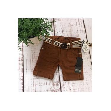Shorts Caramelo