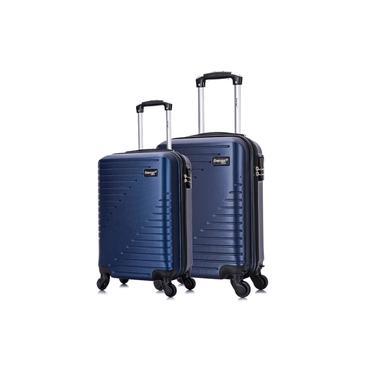 Imagem de Conjunto Mala de Viagem PP e P Chicago Swiss Move Azul