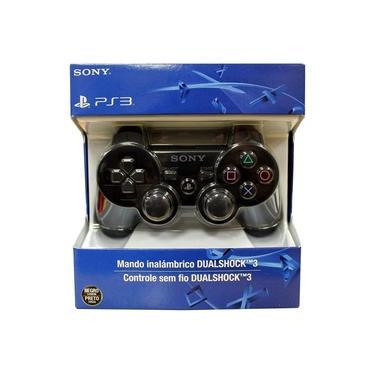 Controle PS3 Dual Shock Wirelles Sem Fio Joypad Recarregavél TOP
