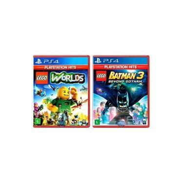 LEGO Worlds + LEGO Batman 3 Beyond Gotham - PS4