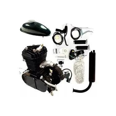 Kit Completo Motor P/ Bicicleta Motorizada 80cc Resistente !!