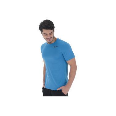 3c5985b506 Camiseta Nike Breathe Top SS Vent - Masculina - AZUL Nike