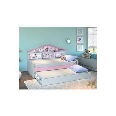 089d14870d Bicama Infantil com Painel de Casa de Boneca - Pura Magia