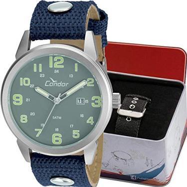 a56f630d704 Pechinchas-30% Relógio Masculino Condor Analógico Troca Pulseira  Co2115Umtdy C Prata