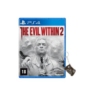 Game - The Evil Within 2 PS4 Dublado + Chaveiro
